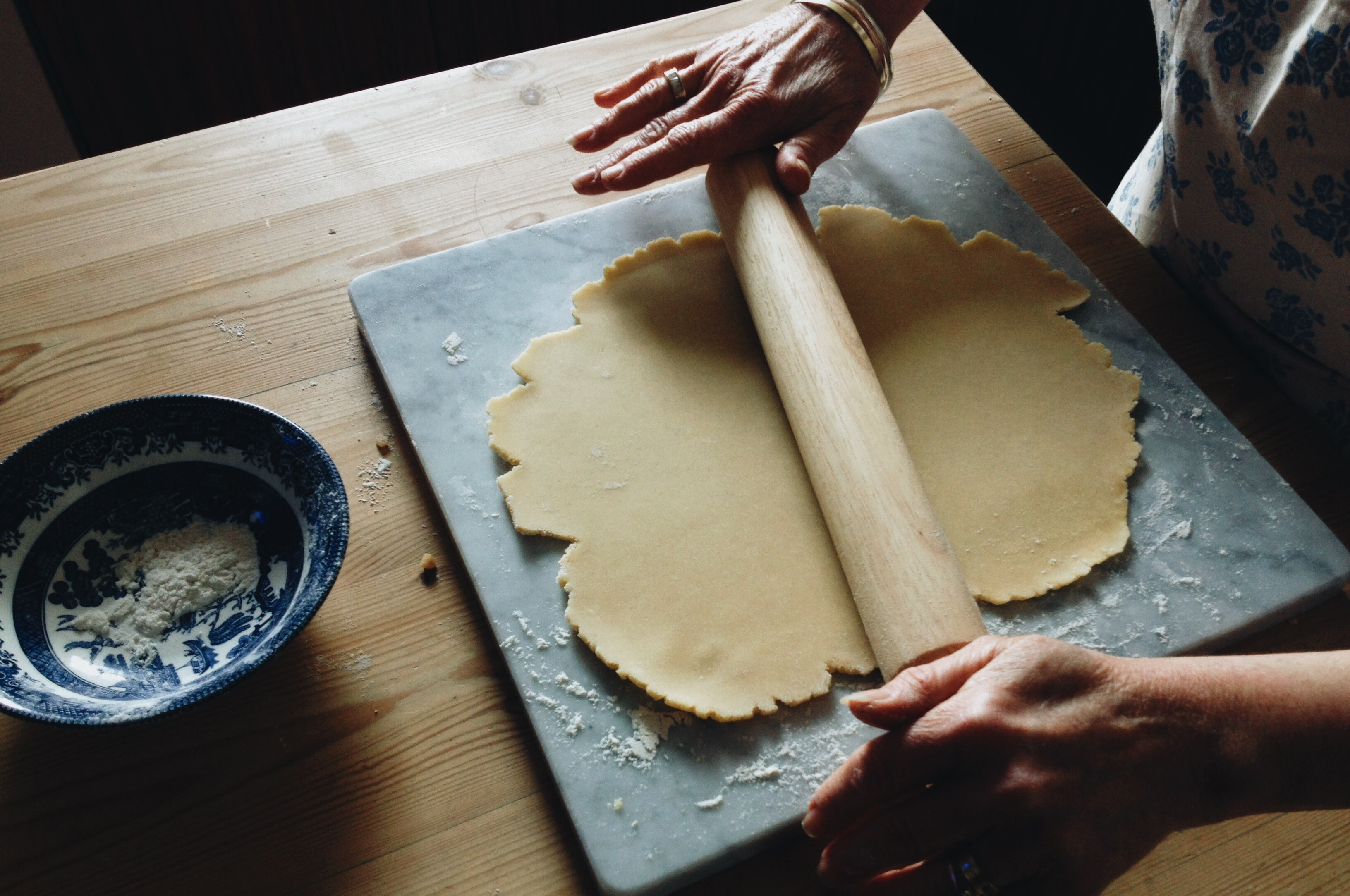 Cuisiner pâte brisée